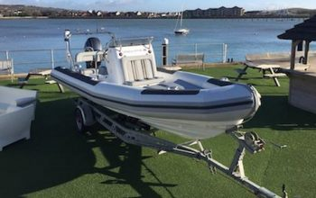 Ballistic RIBs For Sale - Commercial & Leisure RIBs - trailer