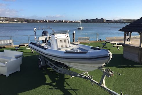 Towing your RIB - Part 1 of our essential boat towing guide -tailer