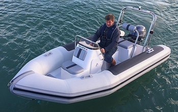 Ballistic RIBS 4.2m club safety launch