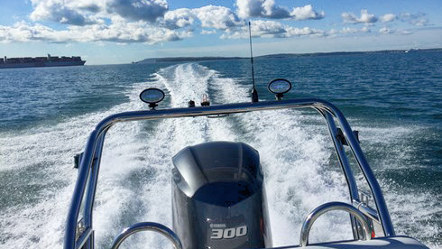 Yamaha Outboard Engines | Leisure & Commercial RIBs by Ballistic - Ballistic 7.8