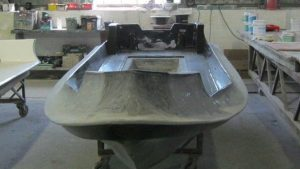 Ballistic hull ready for tubes