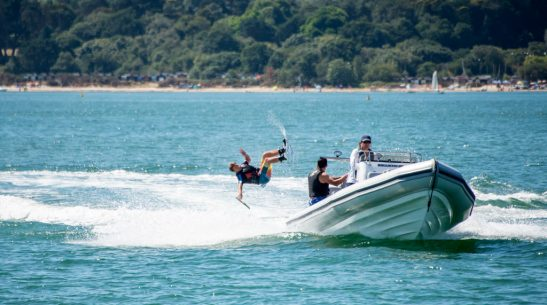 Watersports from a RIB