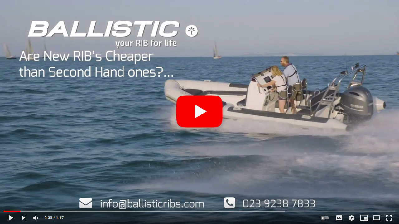 Are new RIBs cheaper than second hand? - video