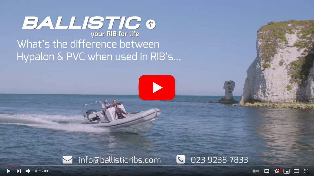 What's best Hypalon or PVC in a RIB boat?